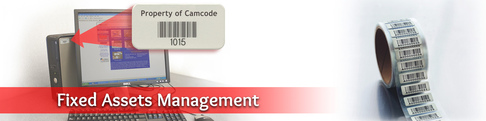 Fixed assets managament system